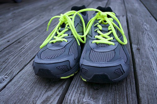 Running Shoes For A  Pounder