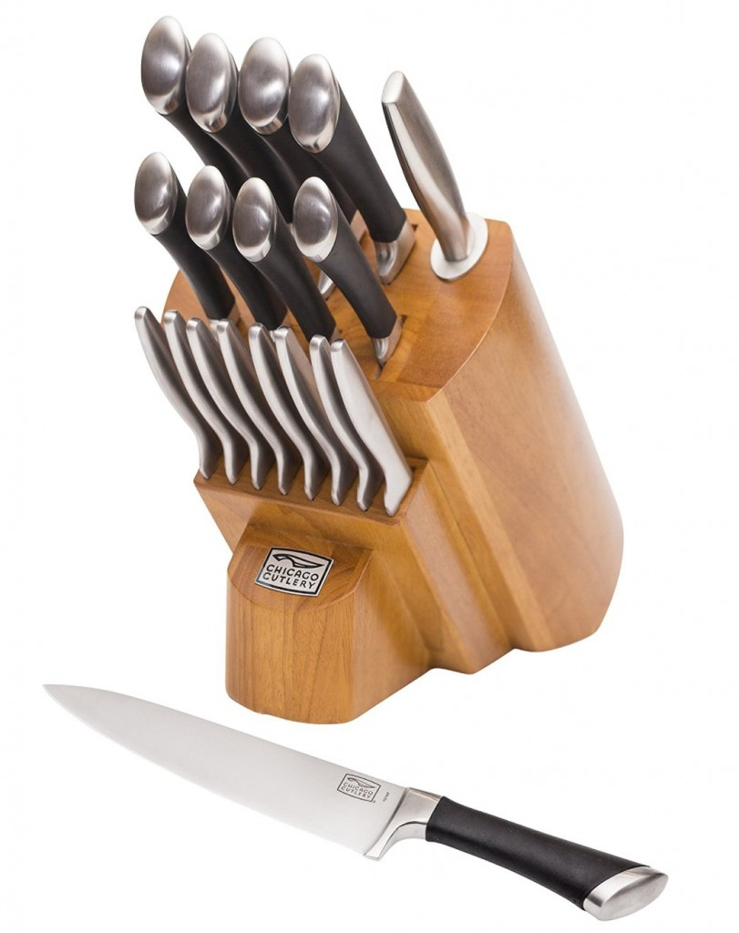 Chicago Cutlery Forged 18-Piece Knife Block Set